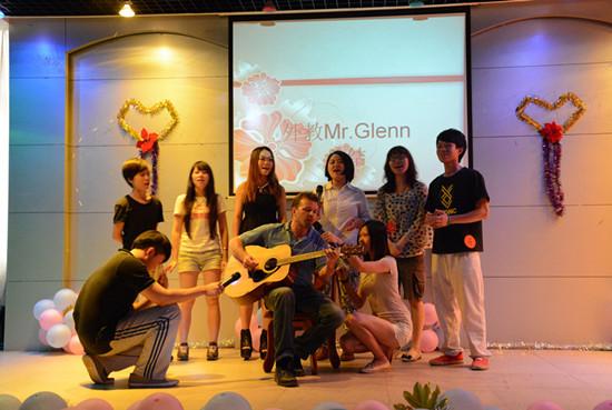 英语系成功举办第五届英文歌唱比赛